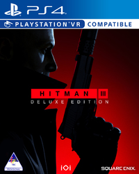 Hitman III - Deluxe Edition (PS4) - Cover
