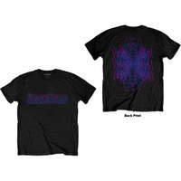 Incubus - Trippy Neon Unisex T-Shirt - Black (XX-Large) - Cover