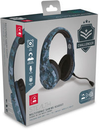 Stealth Challenger Gaming Headset & Stand Bundle - Midnight Camouflage (PC/Gaming)