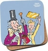 Roald Dahl - Charlie and the Chocolate Factory Charlie & Golden Ticket Coaster (Single)
