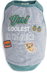 Dog's Life - Coolest On the Block Tee - Green (X-Small)