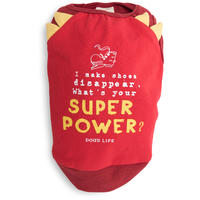 Dog's Life - Super Power Tee - Red (Small)