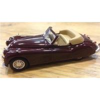 1/43 - Jaguar XK140 - Maroon (Die Cast Model)
