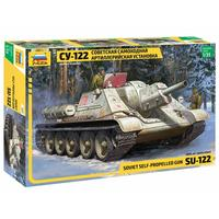 Zvezda - 1/35 - Soviet Self-Propelled Gun SU-122 (Plastic Model Kit)