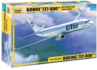 Zvezda - 1/144 - Boeing 737-800 (Plastic Model Kit) - Cover