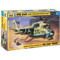 "Zvezda - 1/72 - Soviet Attack Helicopter MI-24P ""Hind"" (Plastic Model Kit)"