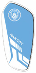 Manchester City - Slip In Shinguards - Junior