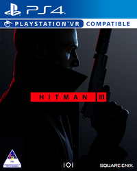Hitman III (PS4) - Cover