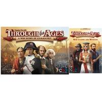 Through The Ages & New Leaders and Wonders Expansion Black Friday Bundle (Board Game)
