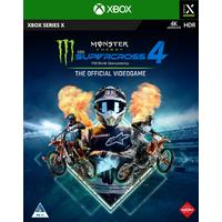 Monster Energy Supercross: The Official Videogame 4 (Xbox Series X)