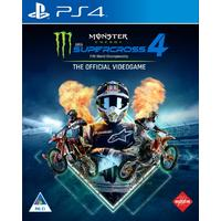 Monster Energy Supercross: The Official Videogame 4 (PS4)