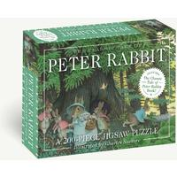 Classic Tale of Peter Rabbit Puzzle (200 Pieces)