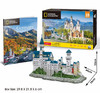 CubicFun - National Geographic - Neuschwanstein Castle (121 Pieces)