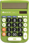 Trefoil - 12 Digit Desktop Calculator 1643 (Green)