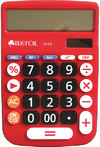 Trefoil - 12 Digit Desktop Calculator 1650 (Red)