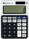 Trefoil - 12 Digit Calculator 10.5 x 14.5cm - Large (Black/White)