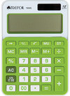 Trefoil - 12 Digit Calculator 10.5 x 14.5cm - Large (Green/White)