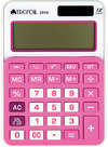 Trefoil - 12 Digit Calculator 10.5 x 14.5cm - Large (Pink/White)
