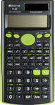 Trefoil - 12 Digit Scientific Calculator 240 Functions (Green)