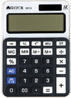 Trefoil - 12 Digit Calculator 8 x 12cm - Small (Black/White)
