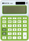 Trefoil - 12 Digit Calculator 8 x 12cm - Small (Green/White)
