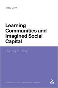 Learning Communities and Imagined Social - Cover