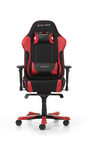 DXRacer - GC-K11-NR-S3 Black/Red Frabric/Leather Gaming Chair