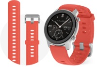 Amazfit GTR SmartWatch 42mm, 5 Atm Water and Dust Resistance, Bluetooth 5.0, Red
