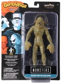 Universal Monsters - The Noble Collection - Creature From the Black Lagoon BendyFigs Bendable Figurine