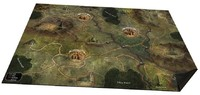 Folklore: The Affliction - Oversized Cloth World Map (Board Game)