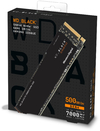 WD Black SN850 500GB NVMe M.2 2280 Solid State Drive