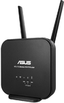 ASUS - 4G-N12B1 N300 LTE Wi-Fi Modem Router 3G/4G Support
