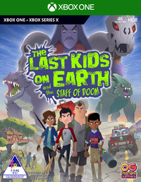 The Last Kids on Earth and the Staff of Doom (Xbox One / Xbox Series X)