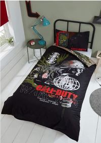 Call of Duty - Warning Duvet Cover and Pillowcase Set (Single)