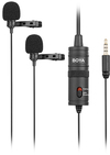 Boya Digital Dual Omnidirectional Lavalier Microphone