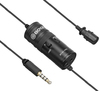 Boya Universal Lavalier Microphone with Earphone Monitoring (For Smartphones & DSLR)