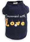 Dog's Life - Crowned With Love Tee - Blue (XXS)