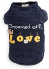 Dog's Life - Crowned With Love Tee - Blue (Small)
