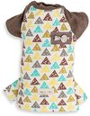 Dog's Life - Triangular Geometric Tee - Brown (X-Small)