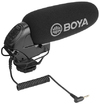 Boya Wired Directional On Camera Shotgun Microphone
