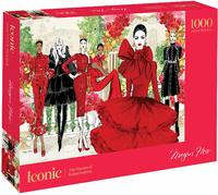 Iconic: The Masters of Italian Fashion Puzzle - Megan Hess (1000 Pieces)