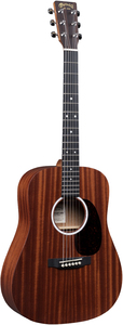 Martin DJR-10E Junior Series Acoustic Guitar with Gig Bag (Sapele)