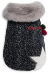 Dog's Life - Woolly Cape with Star and Pompom - Blue (XXS)