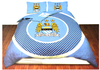 Manchester City - Reversible Bullseye Duvet Set (Double)