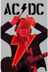 AC/DC - Pwr-up Angus Textile Poster
