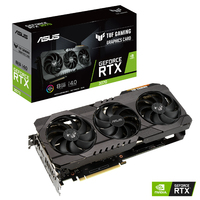 ASUS - TUF Gaming GeForce RTX 3070 8GB GDDR6 Gaming Graphics Card - Cover
