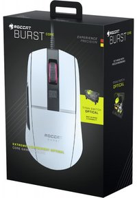 ROCCAT - Burst Core Gaming Optical Wired Mouse - White
