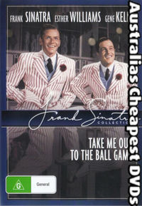 Take Me Out to the Ball Game (Region 1 DVD) - Cover