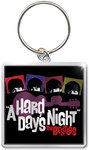 The Beatles - Hard Day's Night Guitar Photo Print Keychain