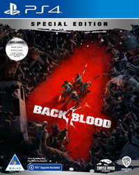 Back 4 Blood - Steelbook Special Edition (PS4/PS5 Upgrade Available) - Cover